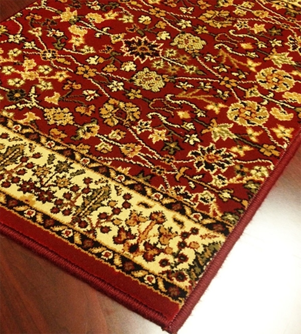 World WO09 Wine Traditional Carpet Stair Runner