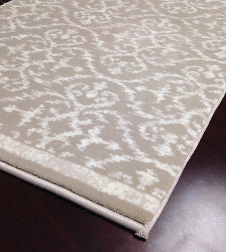 Ansel CBK0/0004a Latte Hallway and Stair Runner