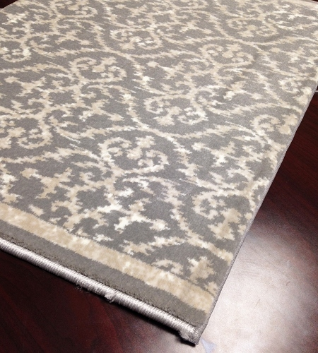 Ansel CBK0/0003a Platinum Hallway and Stair Runner