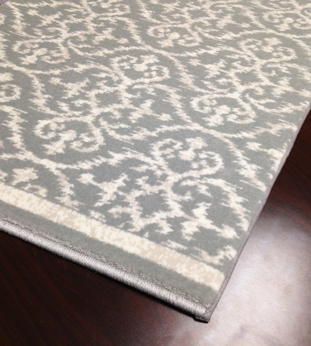 Ansel CBK0/0001a Seafoam Hallway and Stair Runner