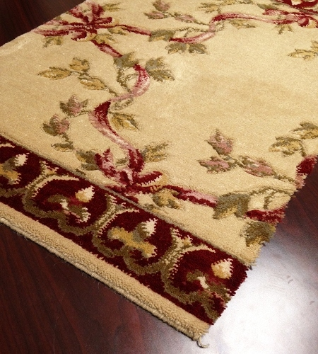 Barcelona BR01 Beige European Carpet Stair Runner