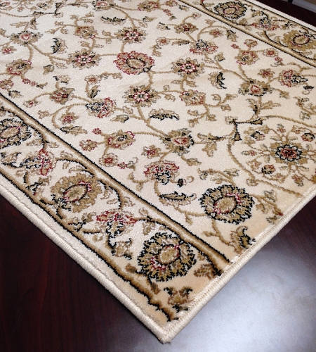 Cersei 2070WH Hanover Ivory Hallway and Stair Runner