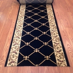 Cero Midnight - 26 Inch Wide Finished Runner - Price is Per Foot