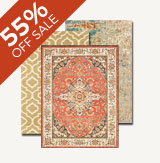 55% off Rugs