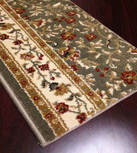 Como 1593 Sage Carpet Stair Runner