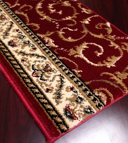 Como 1599 Red Carpet Stair Runner