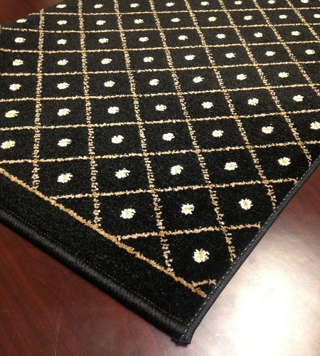 Como 782 Black Carpet Stair Runner