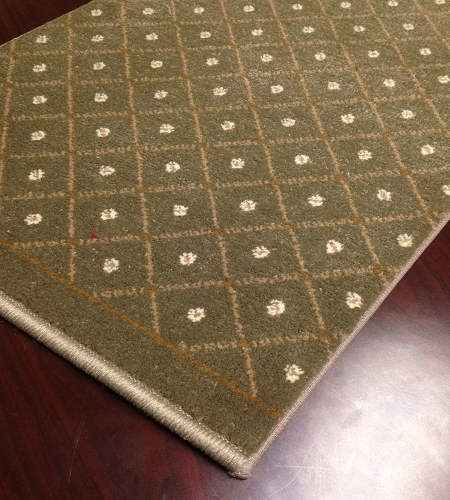 Como 782 Sage Carpet Stair Runner