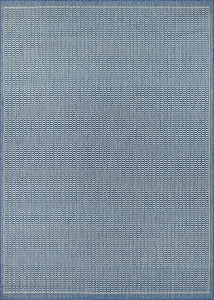 Couristan Recife Saddlestitch 1001-1212 Champagne Blue Area Rug