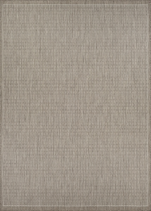 Couristan Recife Saddlestitch 1001-2312 Champagne Taupe Area Rug