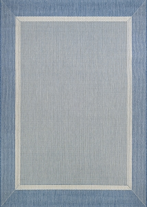 Couristan Recife Stria Texture 5526-1212 Champagne Blue Area Rug