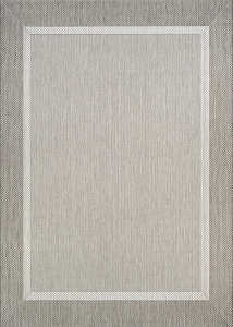 Couristan Recife Stria Texture 5526-2312 Champagne Taupe Area Rug