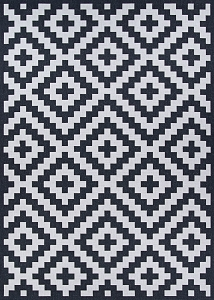 Couristan Afuera Diatomic 8408-9008 Halogen Area Rug