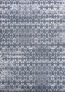 Couristan Marina Grisaille 1259 0225 Confederate Grey Ivory Rug