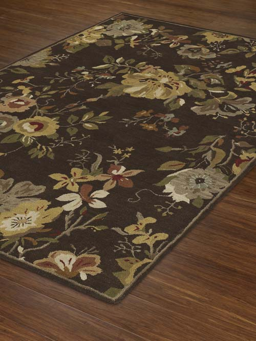 Dalyn Jewel JW30 Chocolate Rug