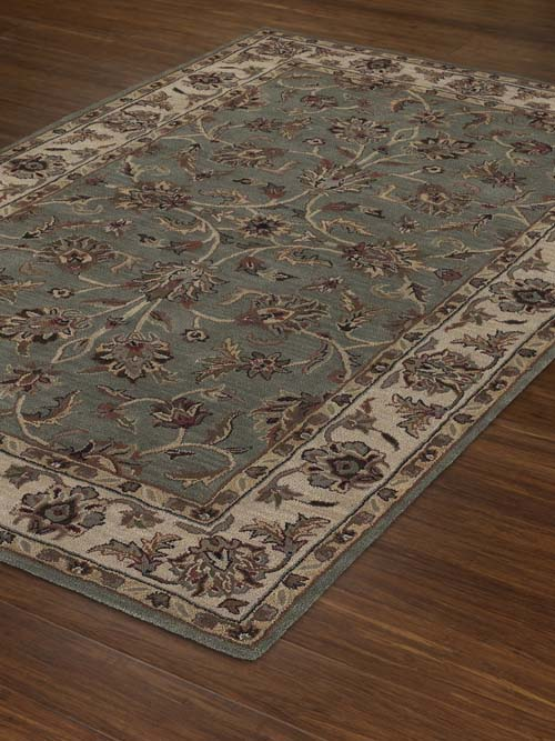 Dalyn Jewel JW31 Spa Blue/Ivory Rug
