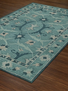 Dalyn Tribeca TB6 Teal Rug