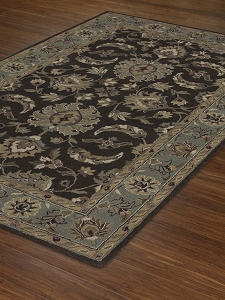 JW37 Chocolate Jewel Rug by Dalyn
