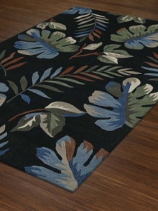Dalyn Maui MM1 Black Rug