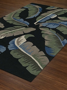 Dalyn Maui MM3 Black Rug