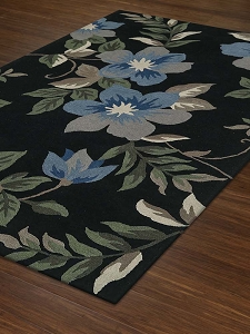 Dalyn Maui MM6 Black Rug