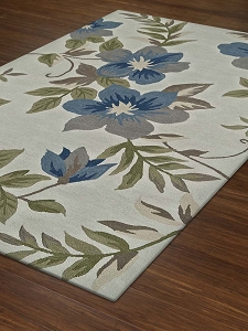 Dalyn Maui MM6 Ivory / Blue Rug