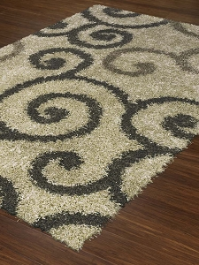 Visions Collection by Dalyn: VN1 Walnut Visions Rug by Dalyn