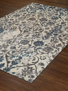 Dalyn Modern Greys MG22 Teal Area Rug