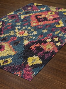Dalyn Modern Greys MG525 Teal Area Rug