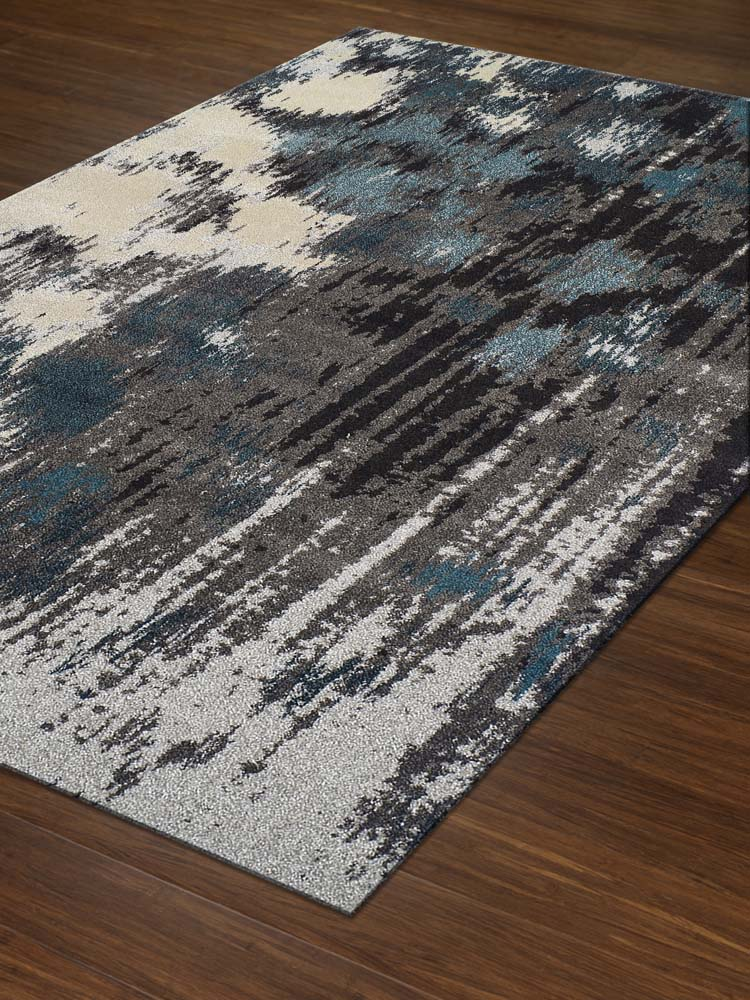 Dalyn Modern Greys MG81 Teal Area Rug