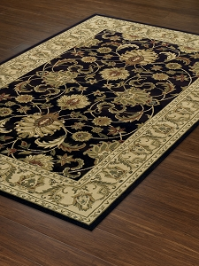Chocolate WB45 Wembley Rug by Dalyn