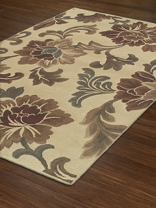 Capri Collection by Dalyn: CA112 Ivory Capri Rug by Dalyn