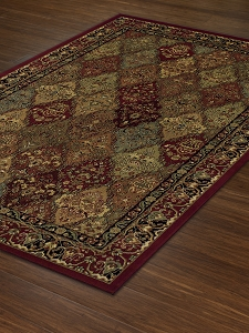 Red WB38 Wembley Rug by Dalyn