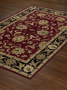 Red WB524 Wembley Rug by Dalyn