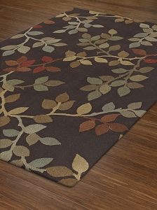Capri Collection by Dalyn: CA71 Chocolate Capri Rug by Dalyn