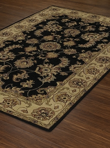 JW1787 Black Jewel Rug by Dalyn
