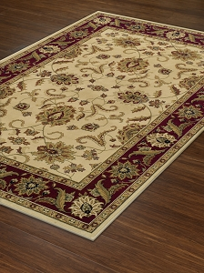Ivory WB524 Wembley Rug by Dalyn