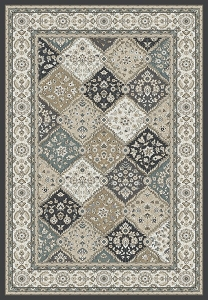 Dynamic Yazd 8471 910 Grey Ivory Rug