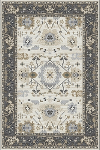 Dynamic Yazd 8531 190 Ivory Grey Rug