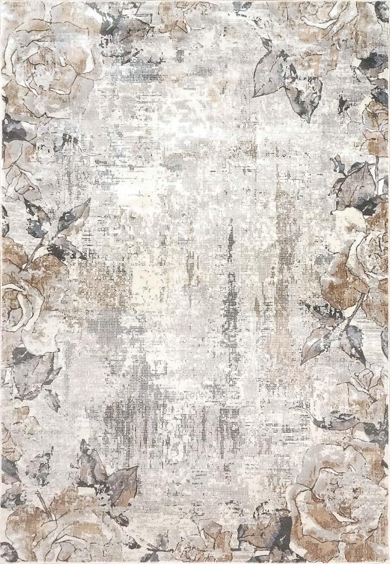 Dynamic Blossom 6515 900 Cream Grey Area Rug