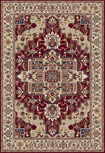 Dynamic Juno 6882 130 Ivory Red Area Rug