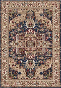 Dynamic Juno 6882 530 Navy Red Area Rug