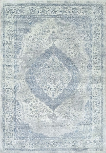 Dynamic Leda 9866 150 Ivory Blue Area Rug