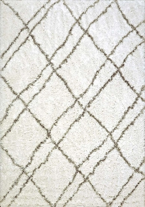 Dynamic Nordic 7431 100 White Silver Area Rug