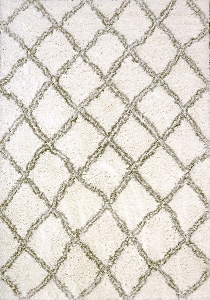 Dynamic Nordic 7432 100 White Silver Area Rug