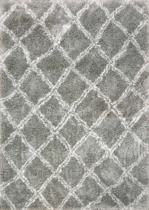 Dynamic Nordic 7432 900 Silver White Area Rug