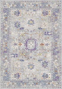 Dynamic Valley 7981 975 Grey Gold Blue Area Rug