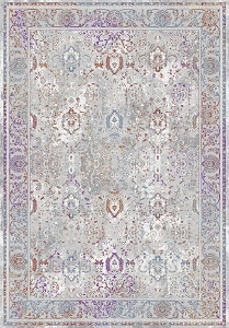 Dynamic Valley 7983 925 Grey Pink Blue Area Rug