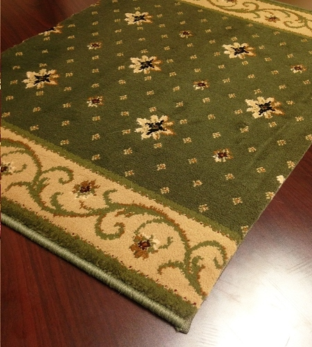Earnest Ramona 662 Basil Carpet Stair Runner