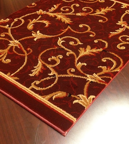 Everest 3318/4873a Mahogany Carpet Stair Runner